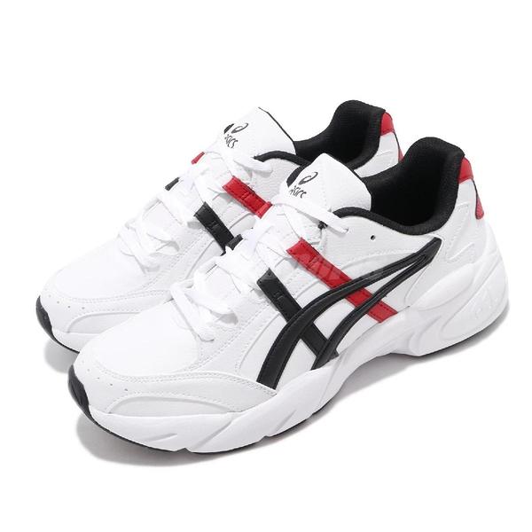 【六折特賣】Asics 復古慢跑鞋 Gel-Bnd 白 紅 休閒鞋 基本款 老爹鞋 男鞋 亞瑟士【ACS】 1021A217101
