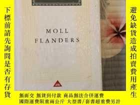 二手書博民逛書店Moll罕見Flanders 摩爾·弗蘭德斯 Daniel Defoe 笛福 everymans library