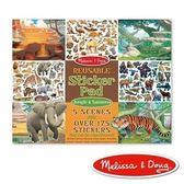 美國瑪莉莎 Melissa & Doug 貼紙簿 - 可重複貼 - 熱帶叢林動物