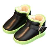 兒童鞋 0-8歲兒童雪地靴男童棉鞋小孩鞋女童短靴子秋冬棉鞋【快速出貨】