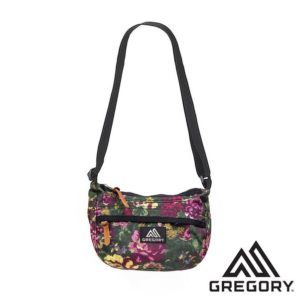 【美國 GREGORY】TEENY SATCHEL 斜背包3L『花園油彩』 |休閒|旅遊|戶外|側背包 G119656