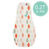 ergoPouch ergoCocoon 二合一有機舒眠包巾0.2T(夏季款)(0-3M) 懶人包巾-橙葉