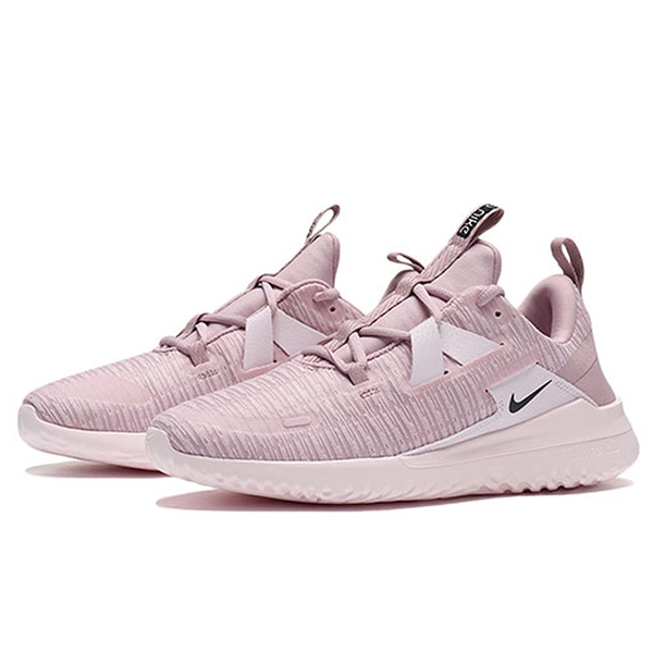 NIKE系列-WMNS NIKE RENEW ARENA 女款粉色透氣運動慢跑鞋-NO.AJ5909500