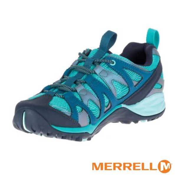 MERRELL SIREN HEX Q2 GORE-TEX多功能防水健行鞋 女鞋 水藍-ML15894