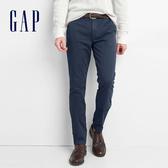 Gap 男裝 基本款復古水洗彈力緊身休閒褲 844261