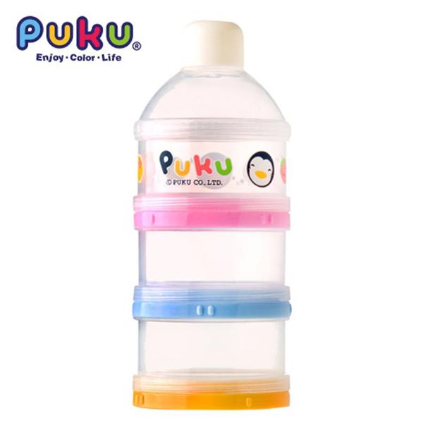 藍色企鵝 PUKU 彩色三層奶粉盒(11006) 好娃娃