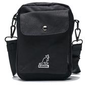 KANGOL 黑色 口袋 腰包 小包 隨身包 包包  (布魯克林) 6955300920