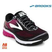 【BROOKS】女款避震型慢跑鞋 GHOST 10 -黑莓果(461D067)全方位跑步概念館