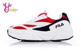 FILA老爹鞋 VENOM 94 韓國廣告款 經典造型復刻 情侶鞋 運動鞋 慢跑鞋 D9906#白紅◆OSOME奧森鞋業
