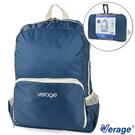 Verage 旅用摺疊後背旅行袋 12L『藍』379-5020 旅行|露營|商務