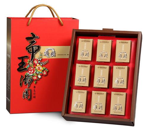 【長庚生技】冬蟲夏草菌絲體雞精禮盒(9瓶入)