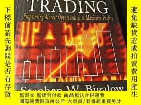 二手書博民逛書店Profitable罕見Candlestick Trading 9780471024668Y319896 St