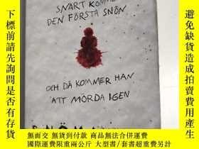 二手書博民逛書店Snömannen罕見Jo Nesbø 雪人 瑞典語小說Y259256 Jo Nesbø Bonnier Po
