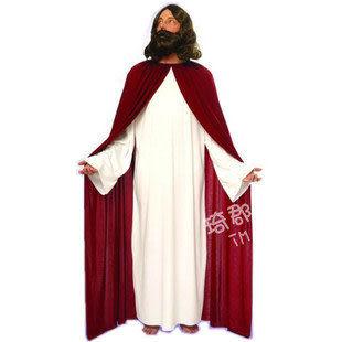 COS萬聖節化妝舞會紅色長袍Jesus 耶穌