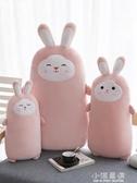 櫻花兔子毛絨玩具公仔床上抱著睡覺的娃娃可愛抱枕玩偶懶人大號女CY『小淇嚴選』