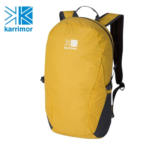 日系[ Karrimor ] mars panel load 18 芥末黃 攻頂包