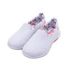 SKECHERS 健走系列 WALK 5 套式花紋運動鞋 白花 124004WMLT 女鞋