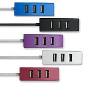 【HOLiC】USB 4port Hub 四孔集線器-白