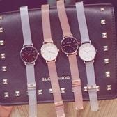手表女鋼帶簡約大氣歐美裝飾