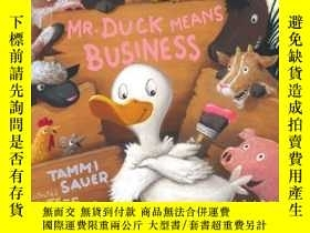 二手書博民逛書店Mr.罕見Duck Means BusinessY362136 Photograph © Tori... Si