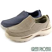 S-10221 男款健走休閒鞋 超輕量減壓牛仔帆布直套式休閒鞋/健走鞋【GREEN PHOENIX】