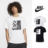 【GT】Nike Jordan 23 Engineered 黑白 短袖T恤 喬丹 純棉 運動 休閒 印花 字母 文字 上衣 短T