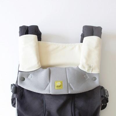lillebaby 配件 - 有機綿口水巾三件組