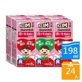 克寧國小生草莓優酪乳198ml*24入【愛買】