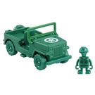 《 TOMICA 》夢幻小汽車 TS4 TS 綠色小士兵&軍事車   /  JOYBUS玩具百貨