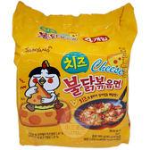 火辣雞肉起司風味鐵板炒麵140g x 4包(整袋裝)【小三美日】