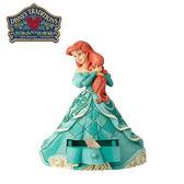 【正版授權】Enesco 小美人魚 抽屜盒 塑像 公仔 精品雕塑 愛麗兒 Ariel 迪士尼 Disney - 959490