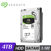【Seagate 希捷】BarraCuda 4TB 3.5吋 桌上型硬碟 [ST4000DM004]