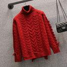 L-4XL大碼長袖毛衣 上衣大碼女裝毛衣微胖妹妹mm洋氣遮肉心機200斤上衣4F057 皇潮天下