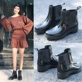 短筒雨鞋女士韓國馬丁雨靴加絨時尚防滑防水鞋套鞋低幫切爾西膠鞋 降價兩天