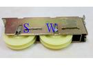 RH-02-3 氣密窗調整雙輪 118 1098型 氣密窗輪 調整輪 機械培林輪 鋁窗輪 塑膠輪 機械輪 鋁門輪
