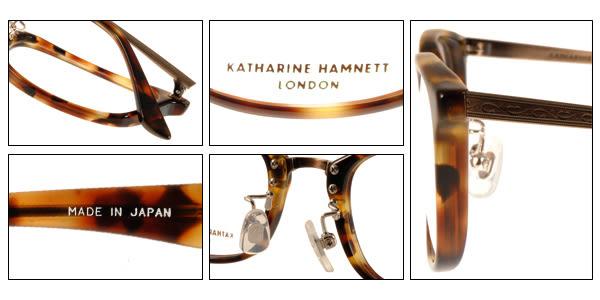 KATHARINE HAMNETT 眼鏡 KH9139 C02 (琥珀-銅) 日本工藝熱銷百搭款 # 金橘眼鏡