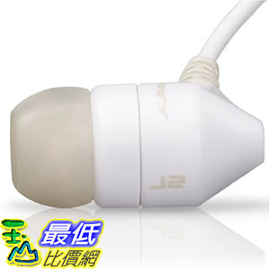 [105美國直購] JBuds J2 耳機 Premium Hi-Fi Noise-Isolating Earbuds Style Headphones (White/Gray)