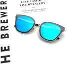 歐美精品墨鏡 貓眼太陽眼鏡 藍水銀 獨家精品款 CP值超高 抗紫外線UV400