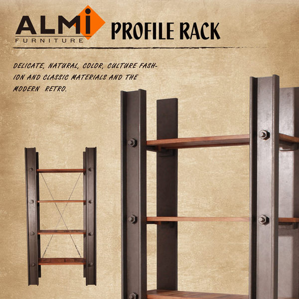 【ALMI】PROFILE-100CM 4 ETAGERES 工業風展示架