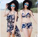 金格爾女三件套沙灘泳裝Eb406『M&G大尺碼』