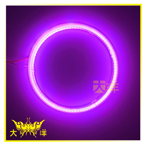◤大洋國際電子◢ 1187 93燈 COB天使眼光圈+PC保護套 12cm 車燈 車頭燈