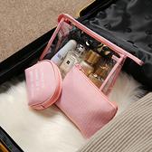 隨身化妝包網紅小號收納包便攜旅行簡約可愛大容量少女口紅洗漱袋 店慶降價