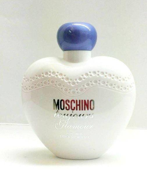 MOSCHINO Toujours Glamour 紫愛櫻桃心女性淡香水沐浴精200ml