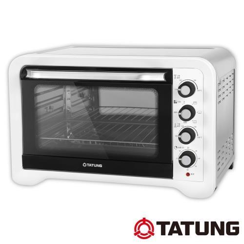 TATUNG大同45公升雙溫控不鏽鋼烤箱TOT-B4507A