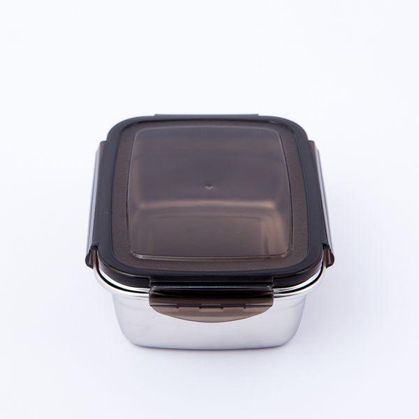 鮮廚煮義不鏽鋼304保鮮盒850ml-生活工場