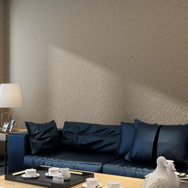 牆紙北歐風格ins簡約現代客廳電視背景牆素色素色牆紙無紡布網紅壁紙 喵小姐