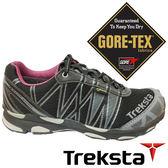 【Treksta 韓國】SYNC II 女GTX防水野跑鞋『紫紅』KR17AW 露營.戶外.機能鞋.多功能鞋.Gore-Tex