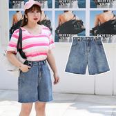 (現貨+預購 FUWAFUWA)-- 加大尺碼牛仔短褲