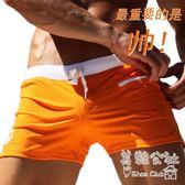 男士時尚性感平角寬鬆速幹運動泳褲 Sq3376 『美鞋公社』