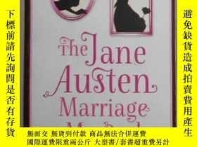 二手書博民逛書店英文原版罕見The Jane Austen Marriage M